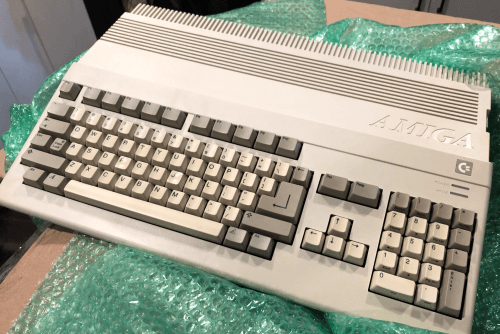 My Amiga 500 Just Unpacked