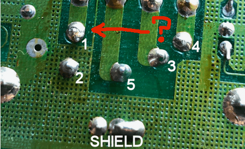 The solder joint of doom.