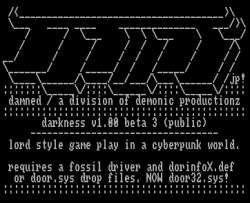 Darkness v1.00 beta 3 file_id.diz