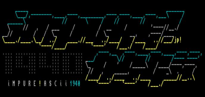 Impure!ASCII by Jack Phlash